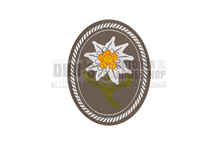 Edelweiss Patch Oval