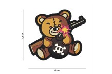 Bomb Teddy Rubber Patch