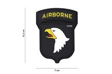 Airborne 101st Rubber Patch