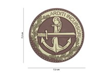 Arditi Incursori Rubber Patch