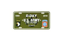 D-Day U.S. Army Plate