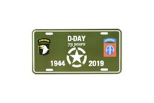 D-Day 101st Airborne Plate