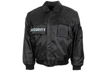"Blouson, ""Security"", schwarz"