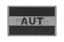 Austria Flag Patch Black