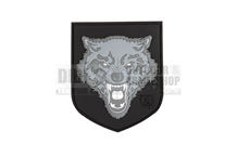 Wolf Shield Rubber Patch div.Farben