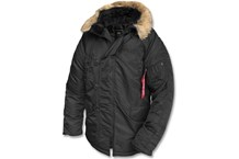 Alpha Industries N3B Fliegerparka black
